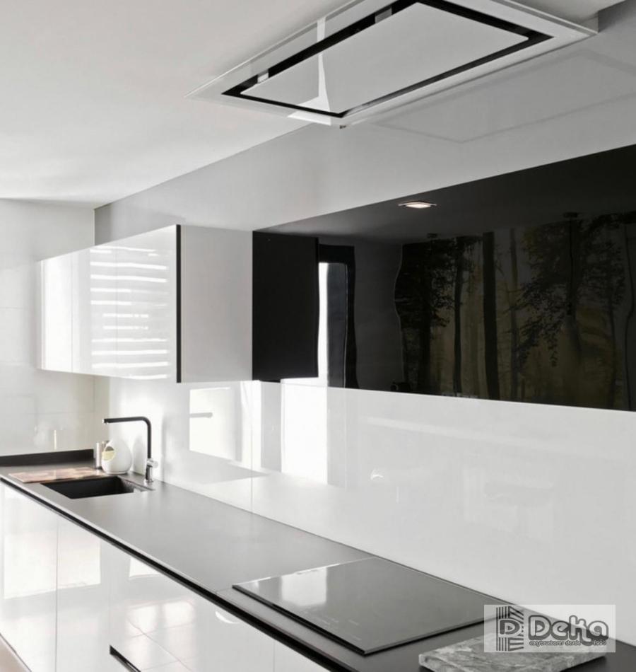 cocina blanco y negro bcn 4